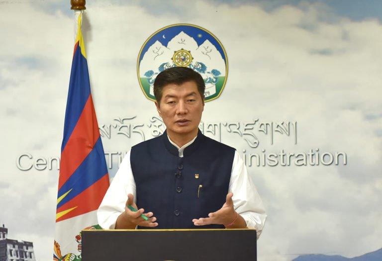 CTA President Dr. Lobsang Sangay (photo courtesy CTA)