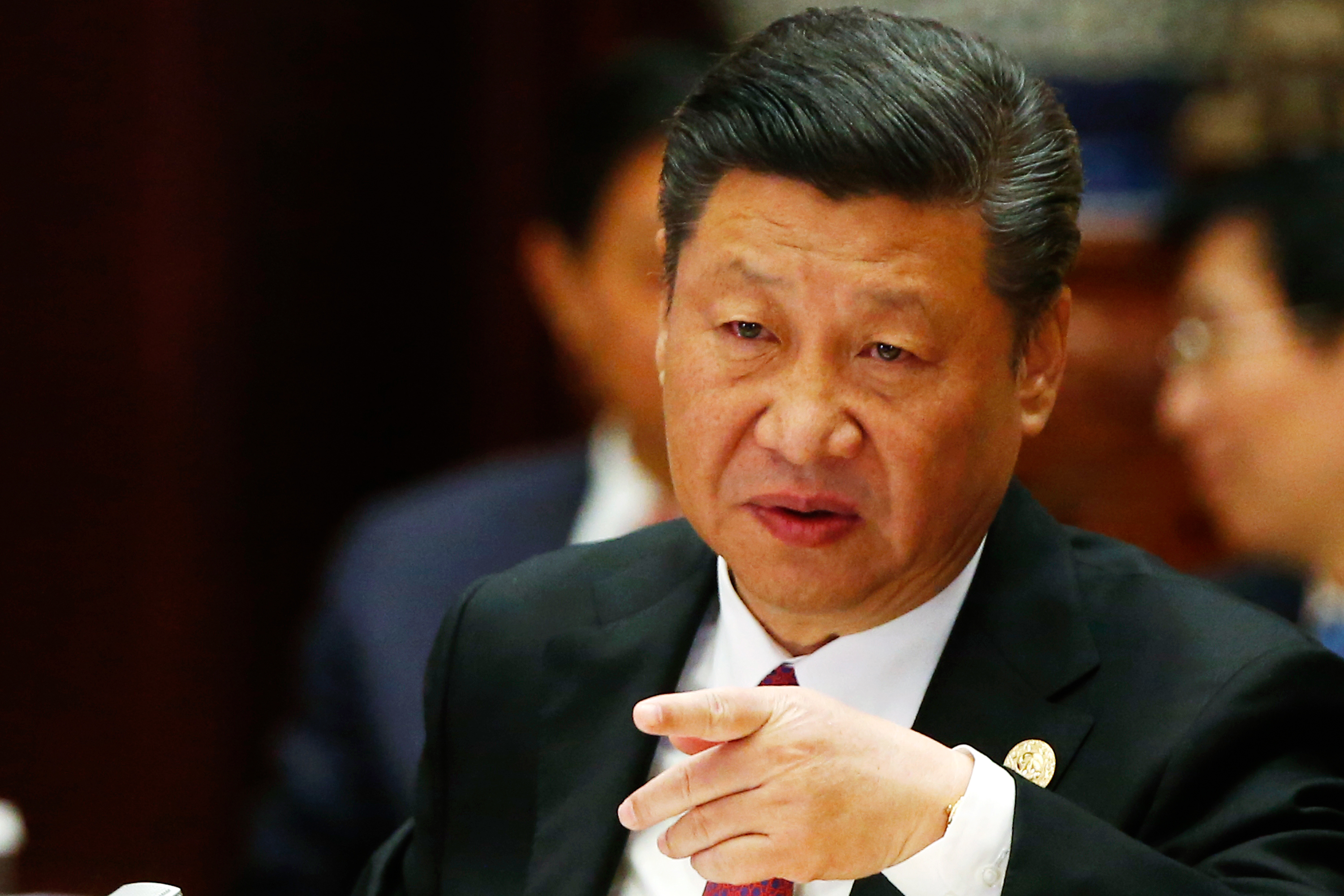 China's President Xi Jinping irked (Photo credit THOMAS PETER/AFP/Getty Images)