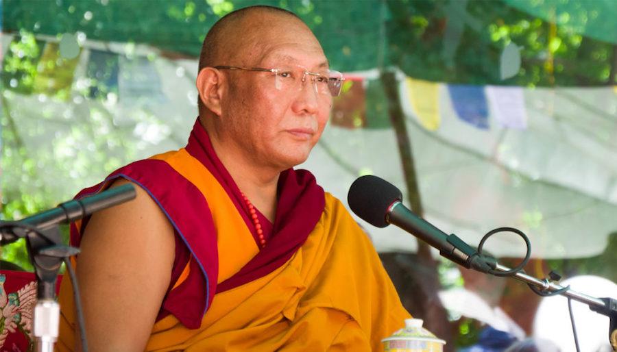 Dagri Rinpoche in an undated photo (Lions Roar)