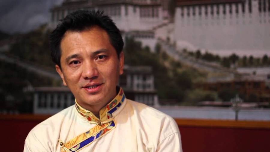 Former 2016 Sikyong candidate Tashi Wangdu (Photo- Tibetan Youth Association in Europe)