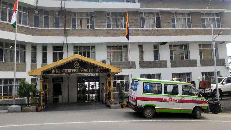 Himachal Pradesh police headquarters in Shimla (Photo- HT)