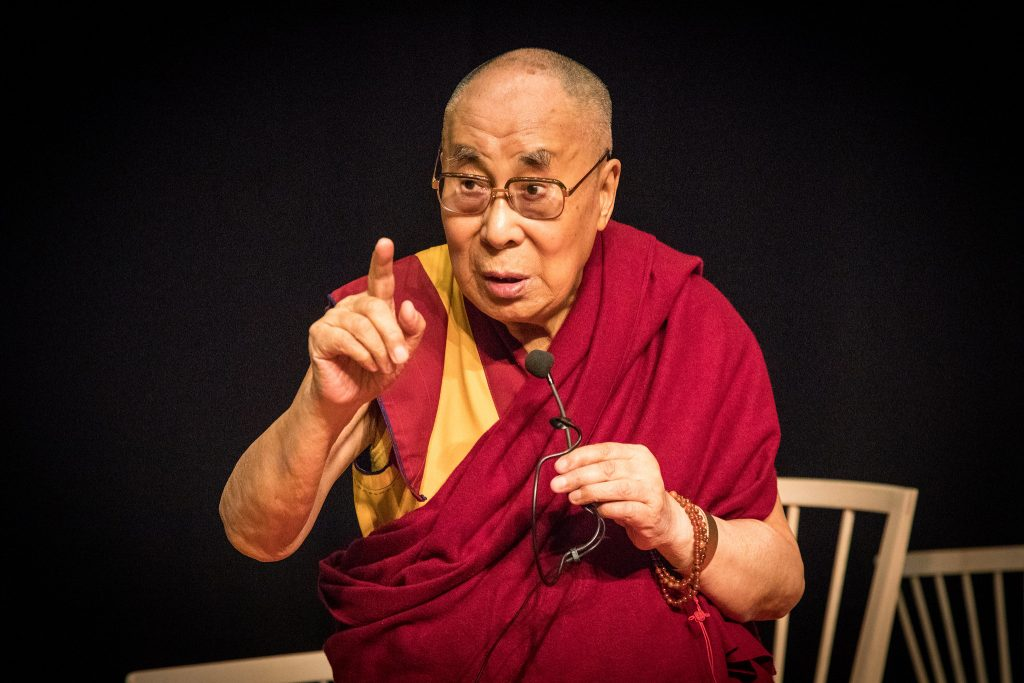 His Holiness the Dalai Lama. Photo-tricycle-The Buddhist Review