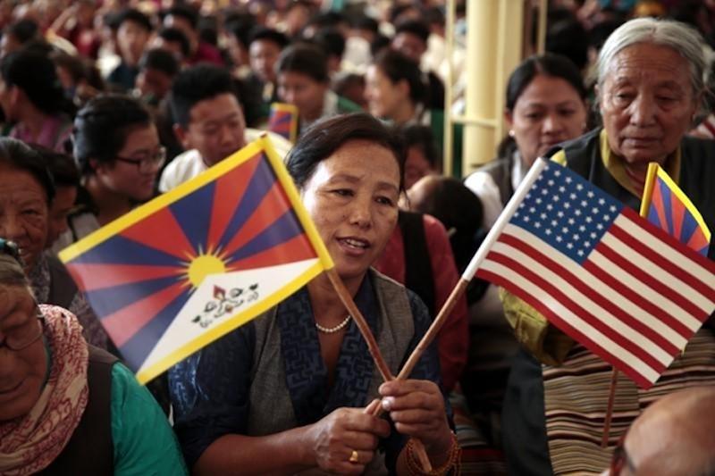 Manifestantes tibetanos agradecen apoyo de Estados Unidos