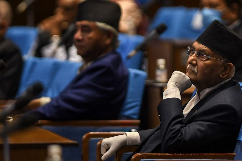 Is the ruling Nepalese party's pro-China stance cutting into the country's sovreignity? (Statesman)