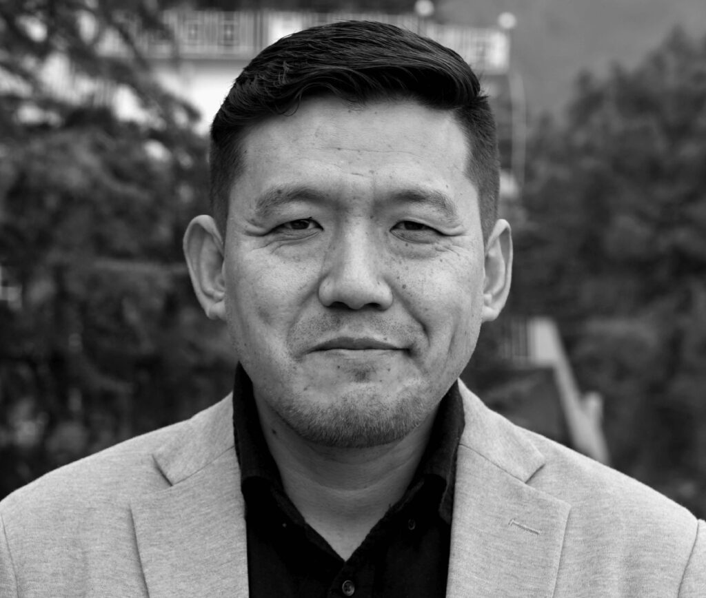 Lobsang Gyatso Sither is the Digital Security Program Director at the Tibet Action Institute (Photo courtesy- Tibet Action Institute)