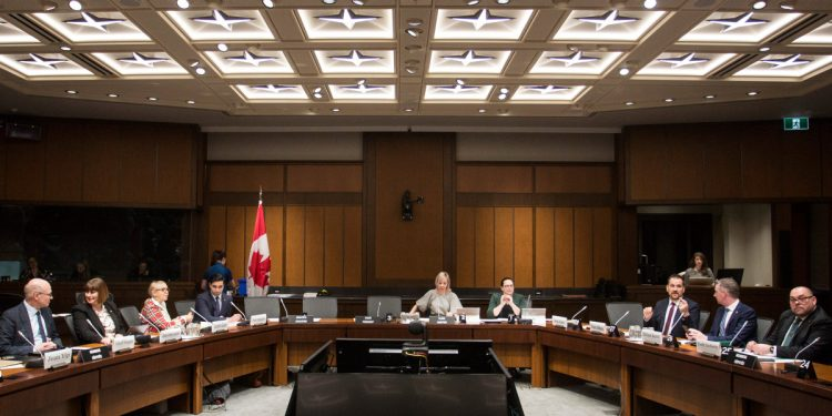 Members of Canada-China relations met for the first CACN meeting in January 2020 (Photo- The Hill Times)