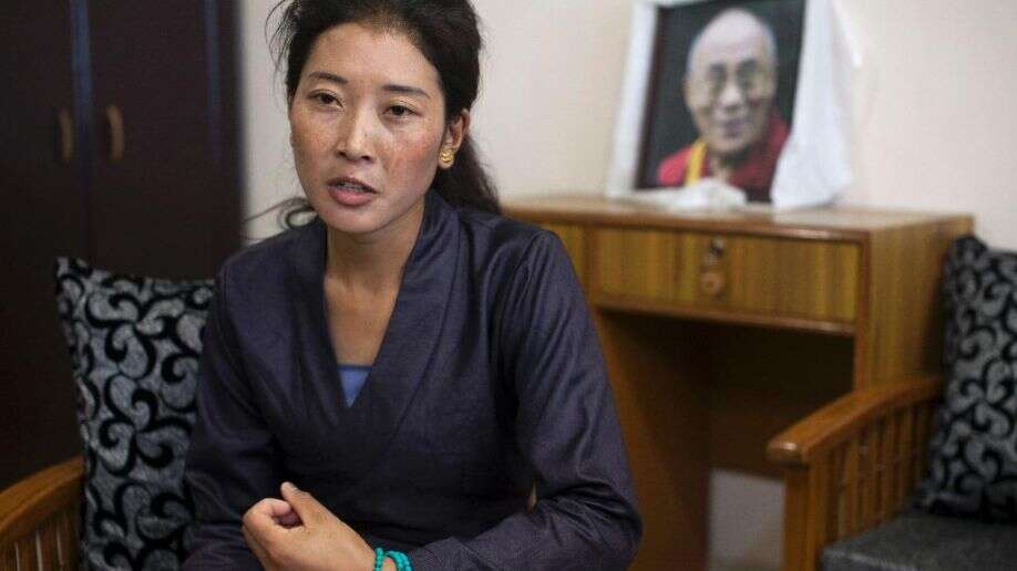 Nyima Lhamo, niece of Tulku Tenzin Delek Rinpoche (Photo courtesy Fox News)
