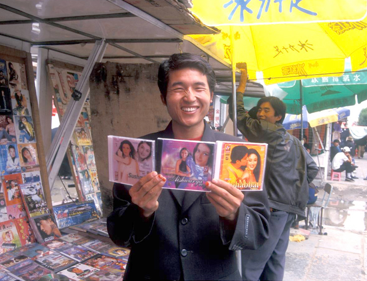 Bollywood stars have more sway than the Chinese appointed Panchen Lama in Lhasa. (Photo-Vijay Kranti)