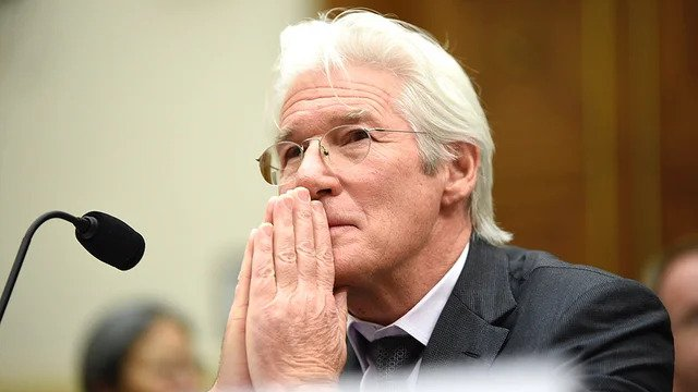 Hollywood actor and social activist Richard Gere at Capitol hill, Washington in an undated photo (The Hill)