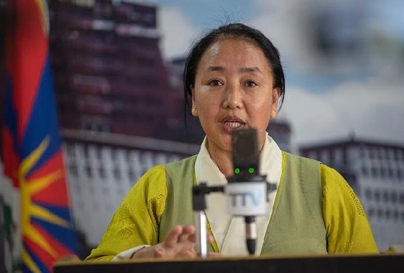 Pema Yangchen, Cabinet minister for Education/CTA Photo Courtesy- CTA