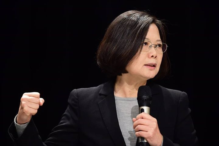 Taiwanese President Tsai Ing-wen (Photo- The Interpreter)