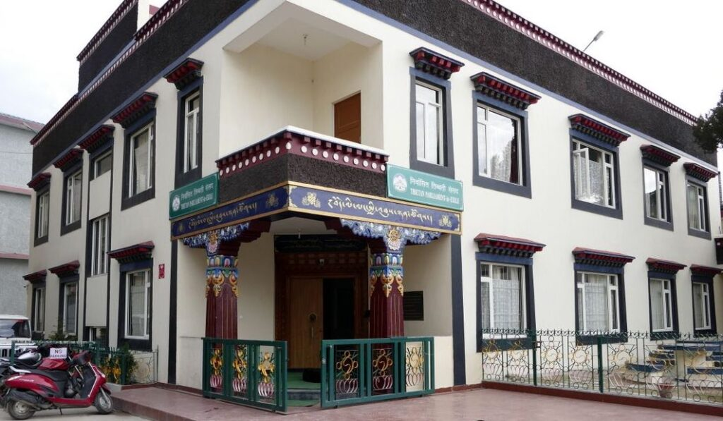Tibetan Parliament in Exile building in Dharamshala (file photo)