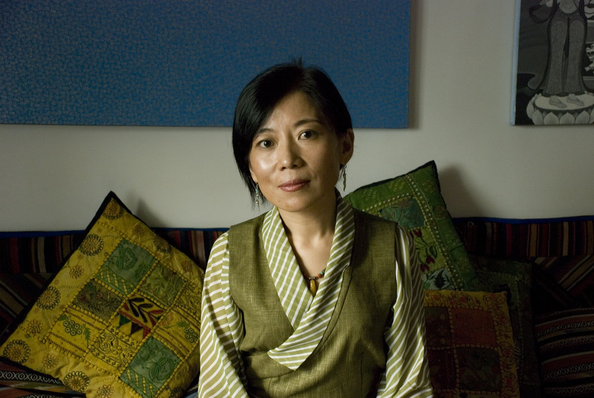 Tibetan writer and activist Tsering Woeser in an undated photo (Pen America)