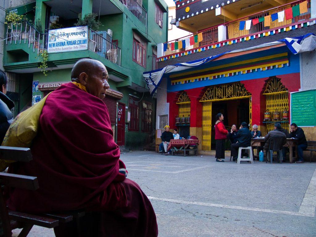 Tibetans in Samyeling settlement known commonly as MT in Delhi. Photo courtesy DforDelhi