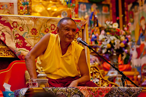Tulku Orgyen Topgyal: Photo courtesy Rigpa Australia