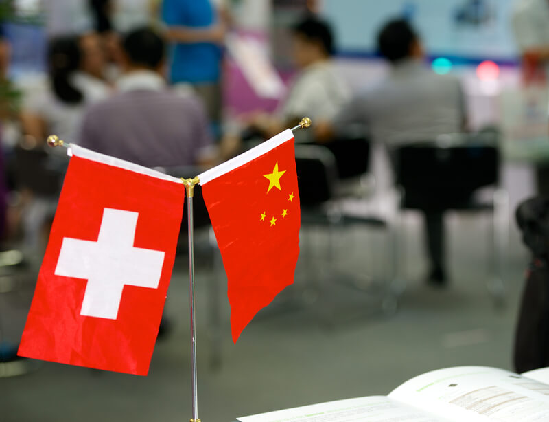 What is the cost of Switzerland and China's growing economic partnership? (LeNews)