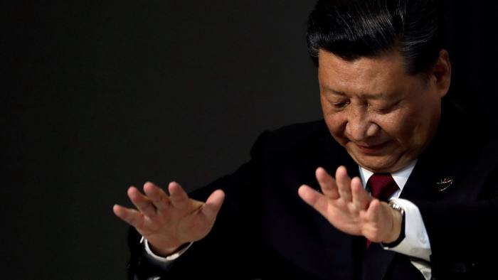 Xi Jinping and China on the backfoot (photo- Reuters)